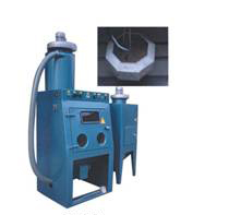 Automatic drum type sandblasting machinery