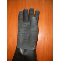 Thicken Stripe wear sandblasting gloves