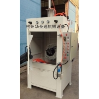 Automatic sandblast cabinet for small parts